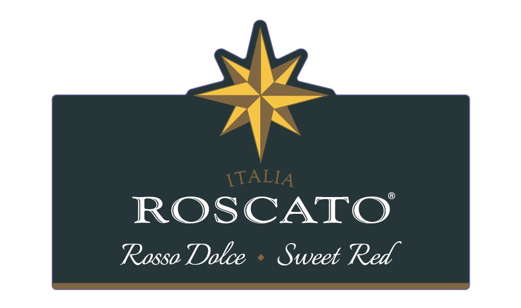 Roscato Rosso Dolce Sweet Red  Front Label