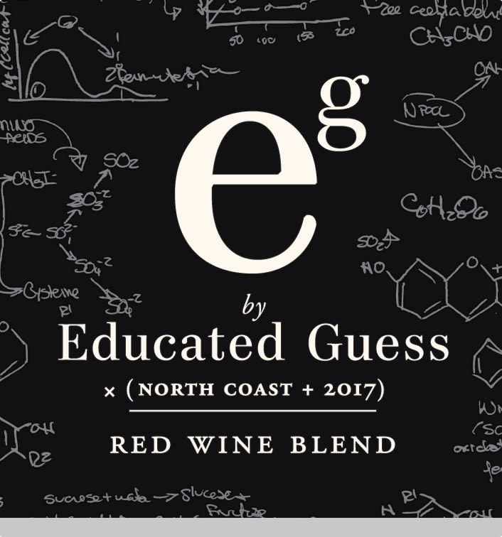 Roots Run Deep Educated Guess Red Blend 2017  Front Label