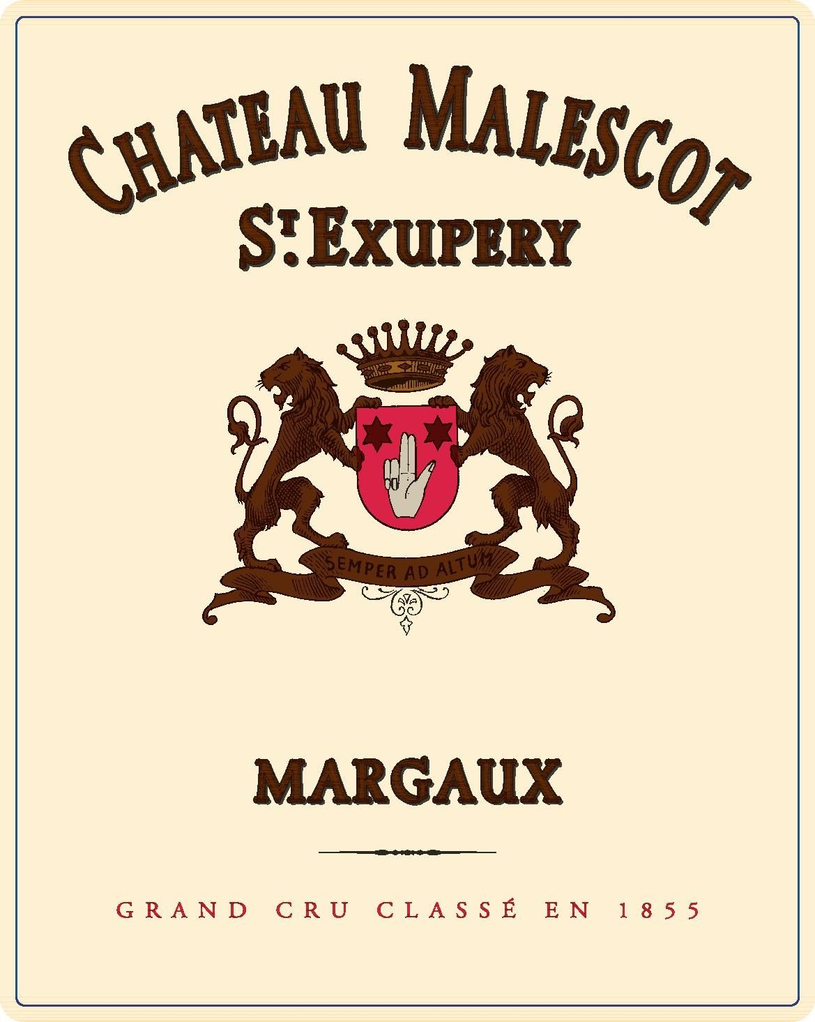 Chateau Malescot St. Exupery (Futures Pre-Sale) 2019  Front Label