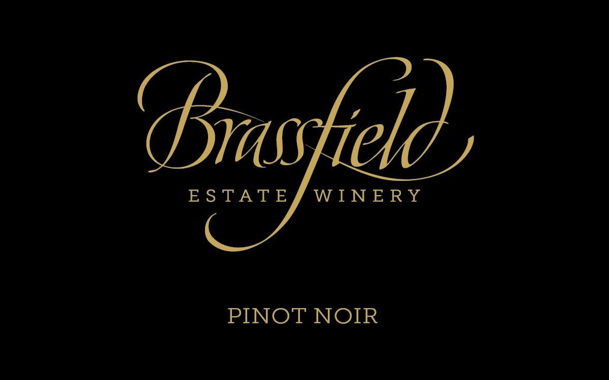 Brassfield Pinot Noir 2016  Front Label
