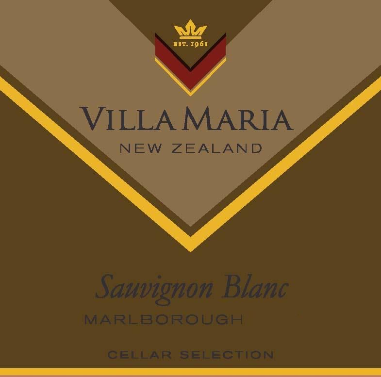 Villa Maria Cellar Selection Sauvignon Blanc 2019  Front Label