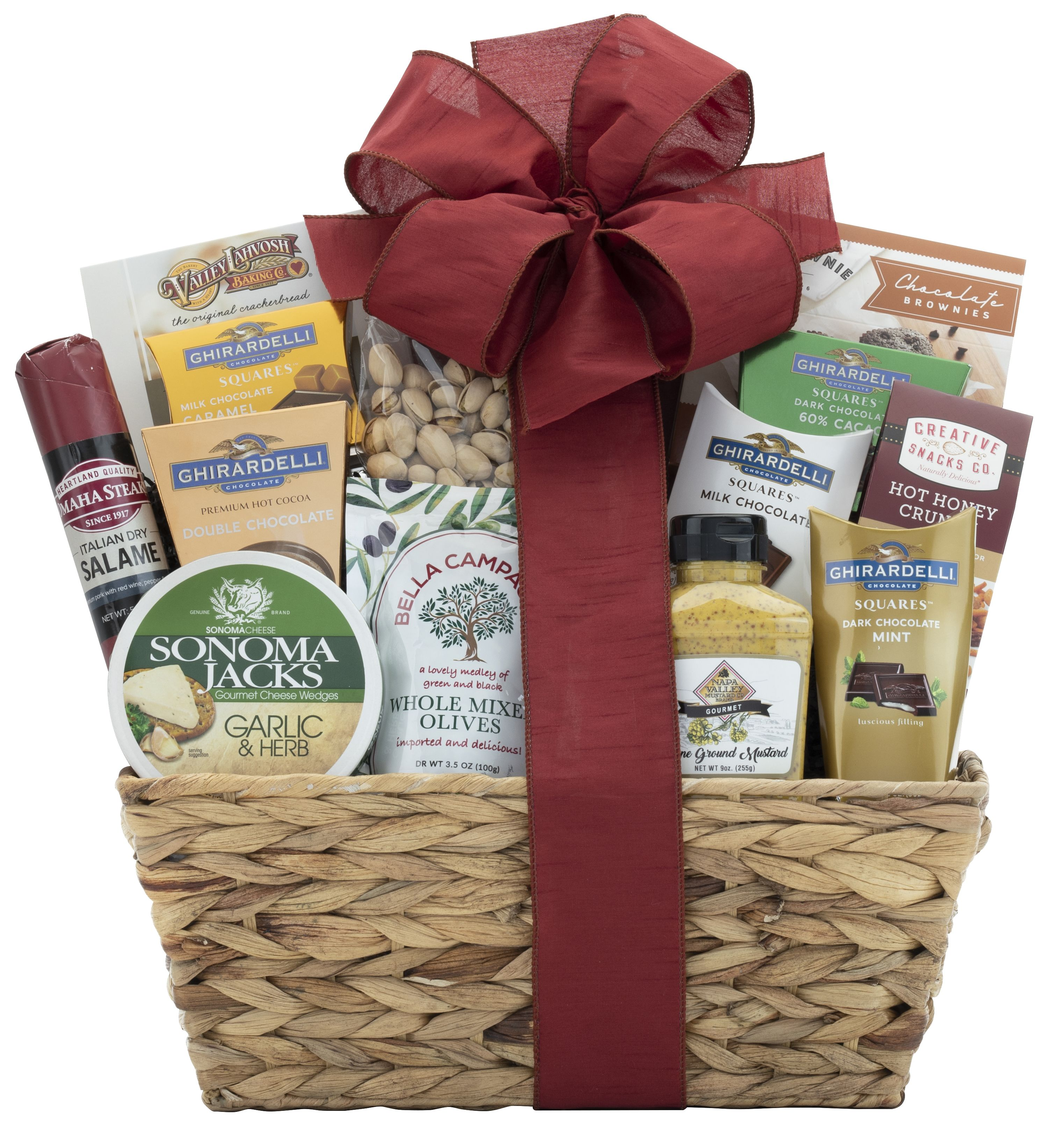 wine.com Classic Gourmet Gift Basket   Gift Product Image