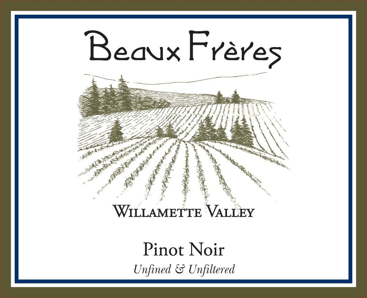 Beaux Freres Willamette Valley Pinot Noir 2018  Front Label