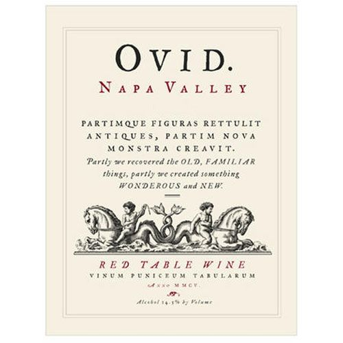 OVID  2009 Front Label
