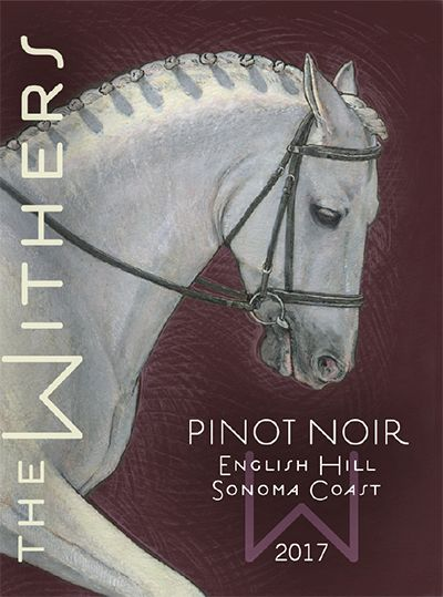 The Withers English Hill Pinot Noir 2017  Front Label