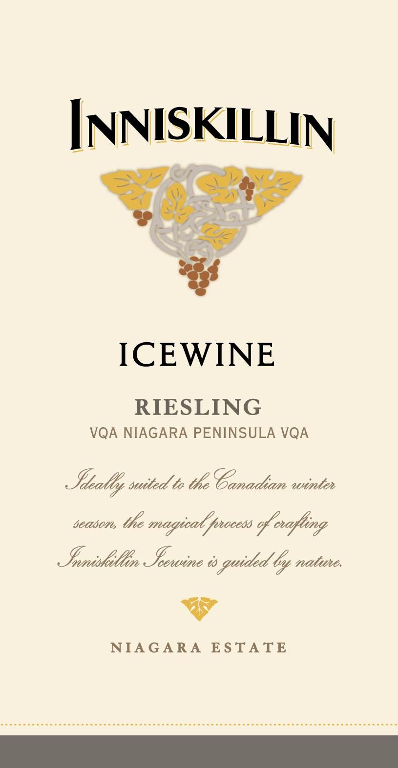 Inniskillin Riesling Icewine (375ML half-bottle) 2017 Front Label