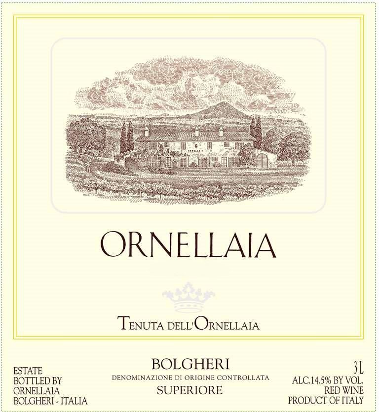 Ornellaia  2007 Front Label
