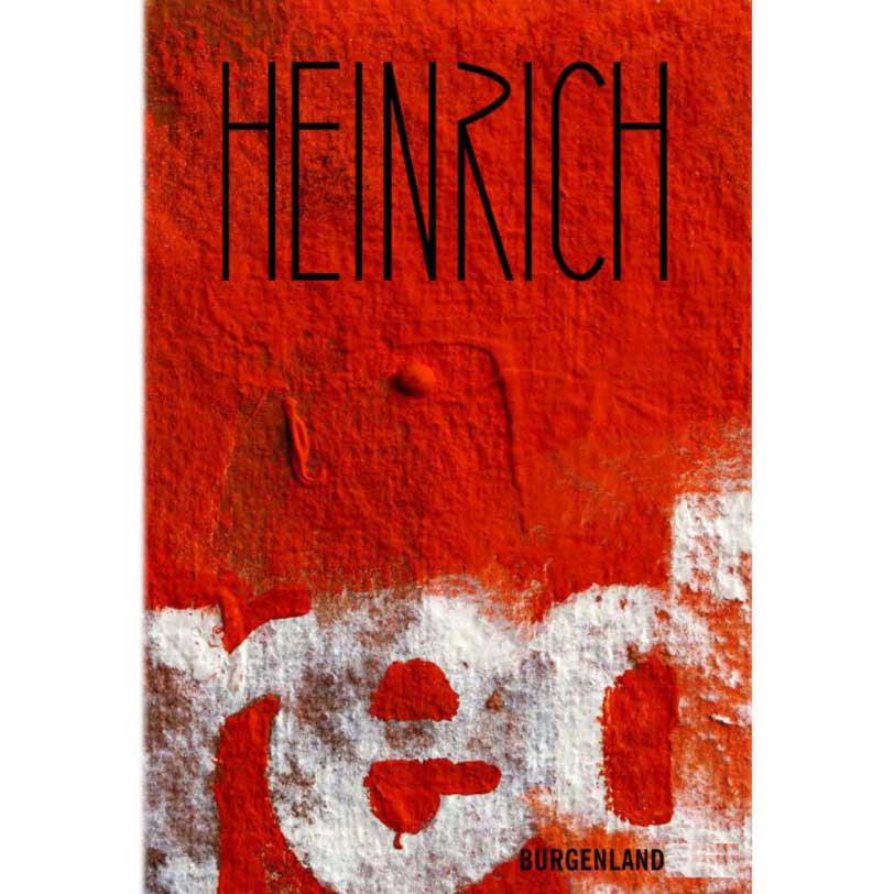 Heinrich Red 2017  Front Label