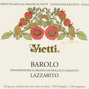 Vietti Barolo Lazzarito (5 Liter Bottle) 2015  Front Label