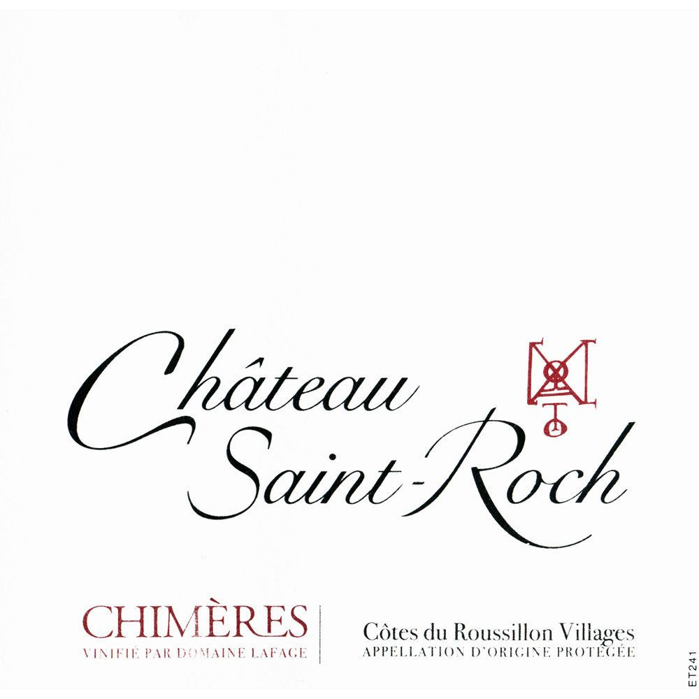 Chateau Saint Roch Chimeres 2017  Front Label