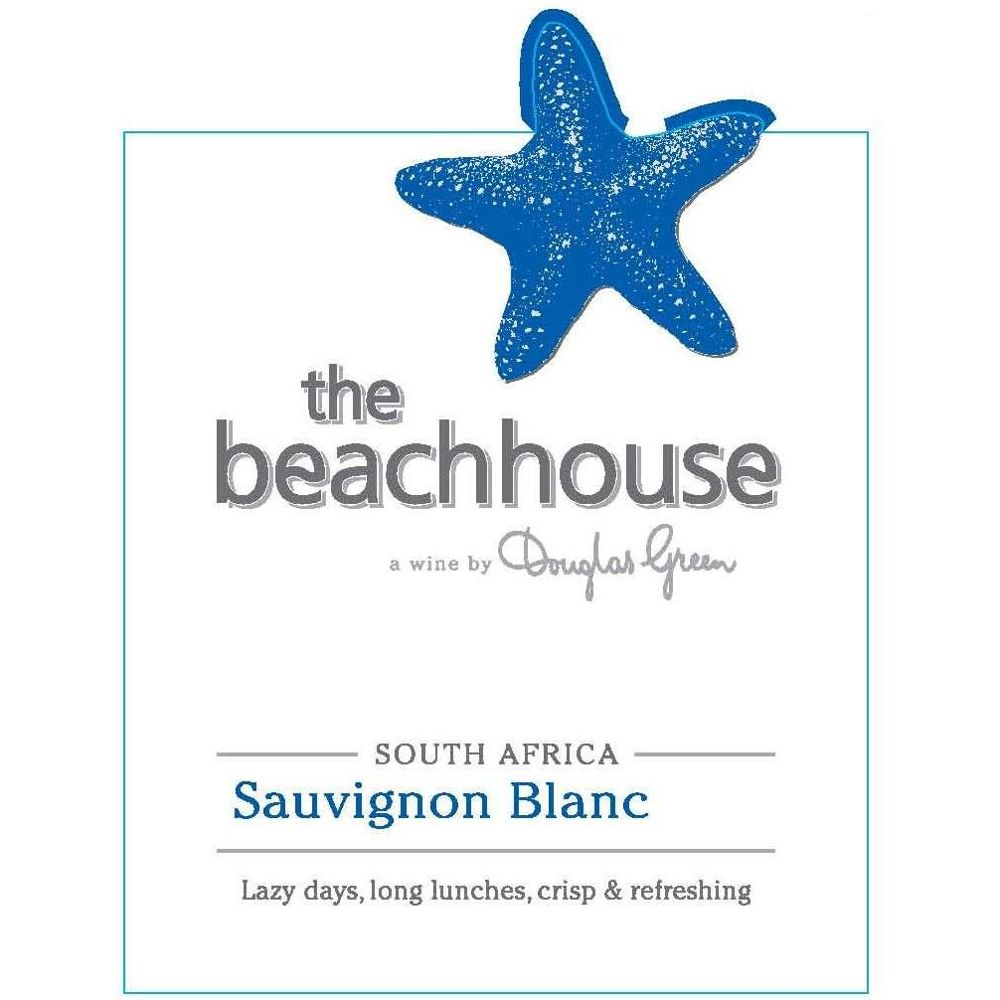 The Beachhouse Sauvignon Blanc 2019  Front Label