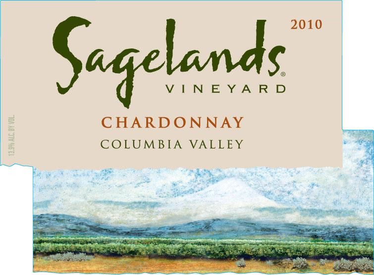 Sagelands Chardonnay 2010 Front Label