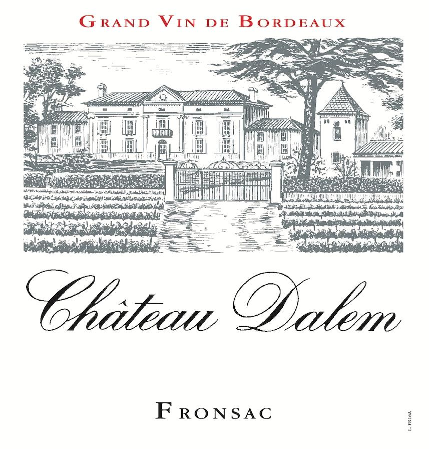 Chateau Dalem (Futures Pre-Sale) 2018  Front Label