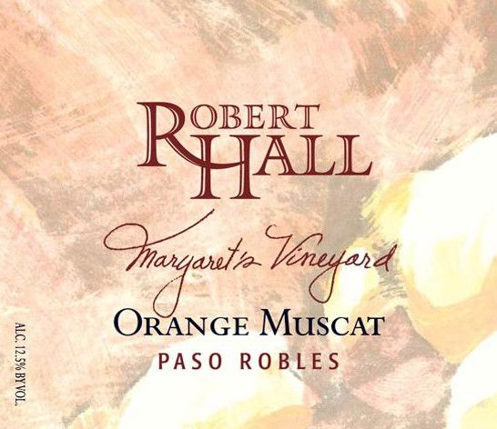 Robert Hall Margaret's Vineyard Orange Muscat 2006  Front Label