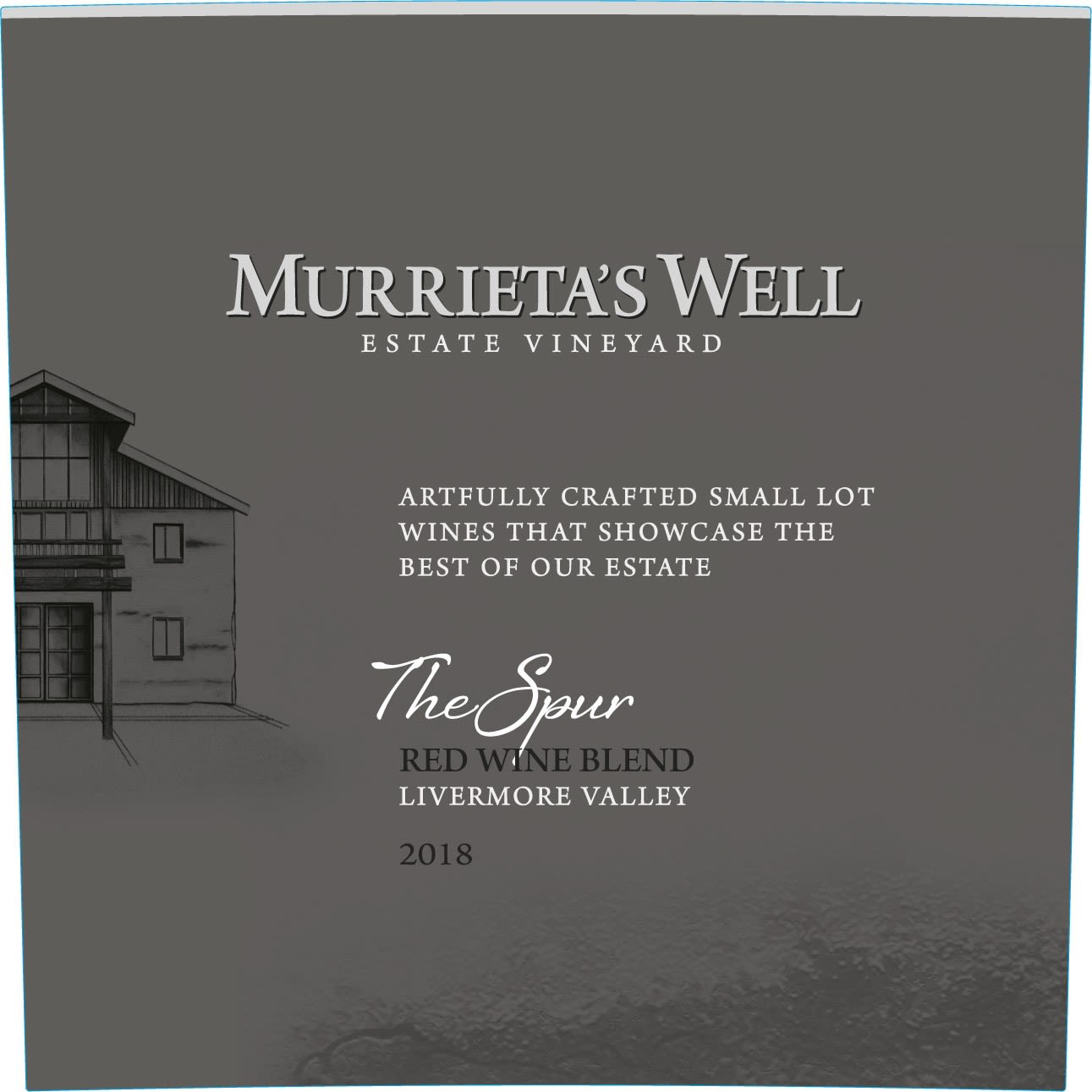Murrieta's Well The Spur 2018  Front Label