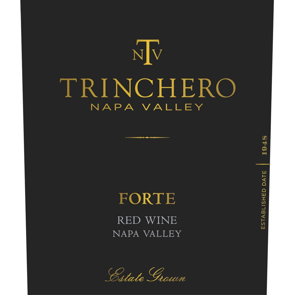 Trinchero Forte Red Blend 2014  Front Label