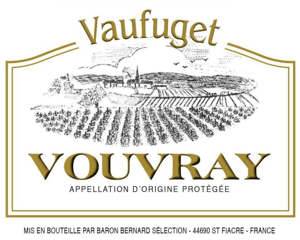 Domaine Vaufuget Vouvray 2019  Front Label