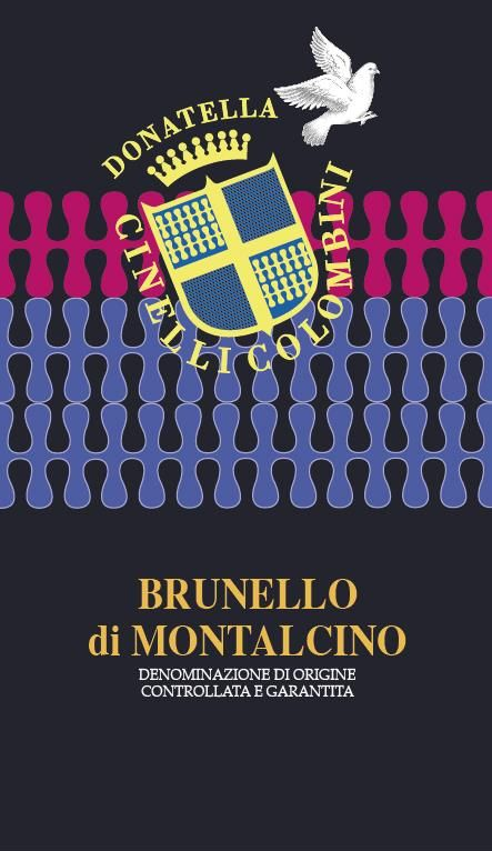 Donatella Cinelli Colombini Brunello di Montalcino 2015  Front Label