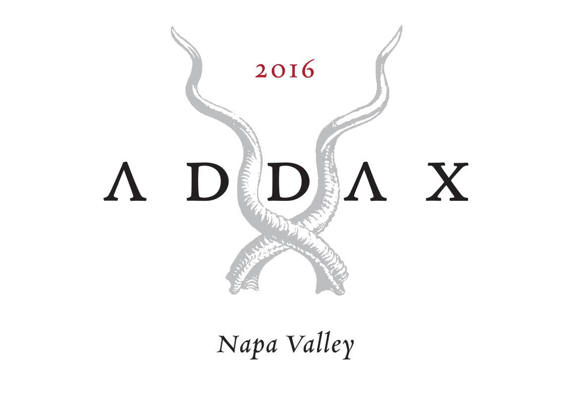Addax Red Wine 2016  Front Label