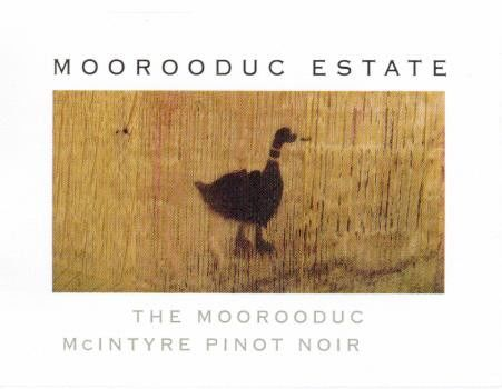 Moorooduc Estate The Duc McIntyre Vineyard Pinot Noir 2016  Front Label
