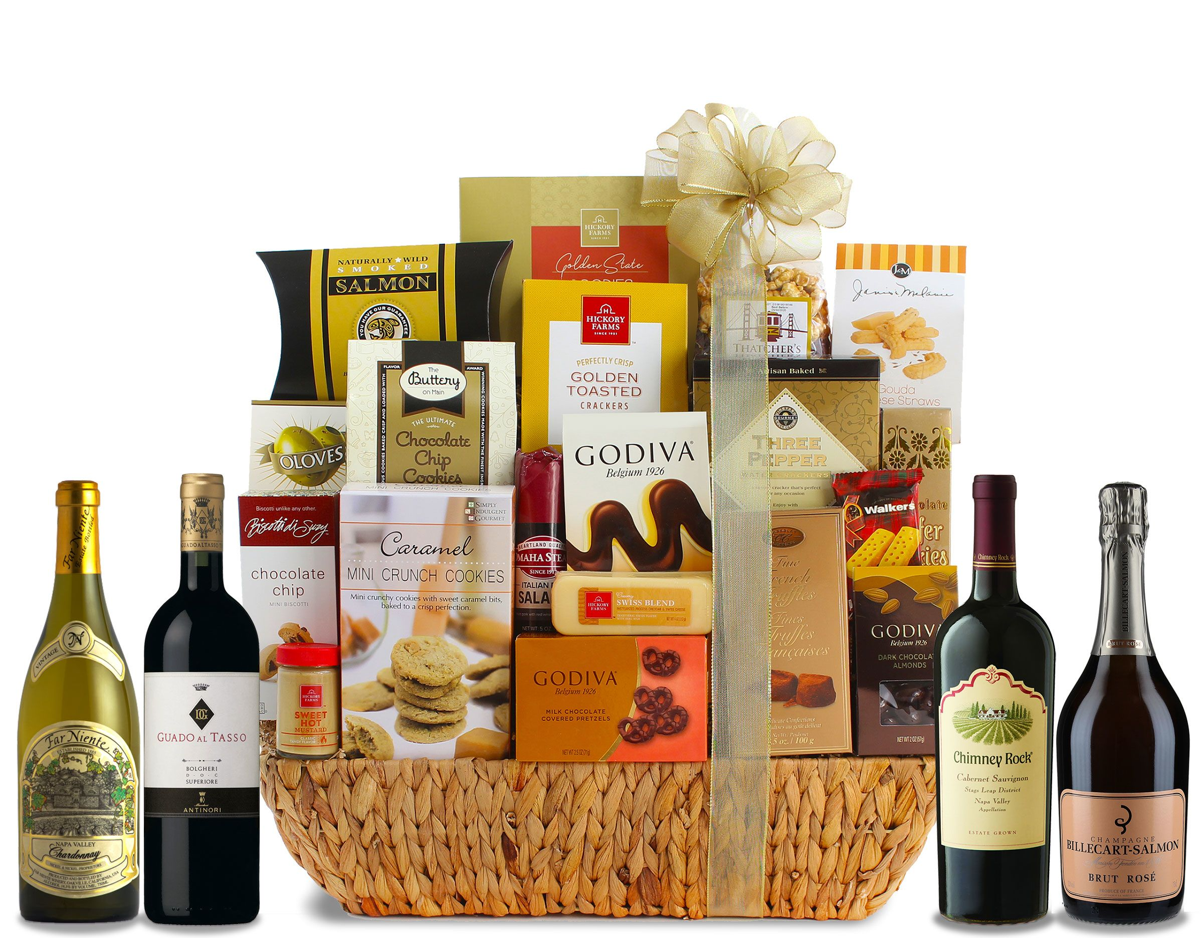 wine.com Collector's Edition Grand Gourmet Wine Gift Basket  Gift Product Image