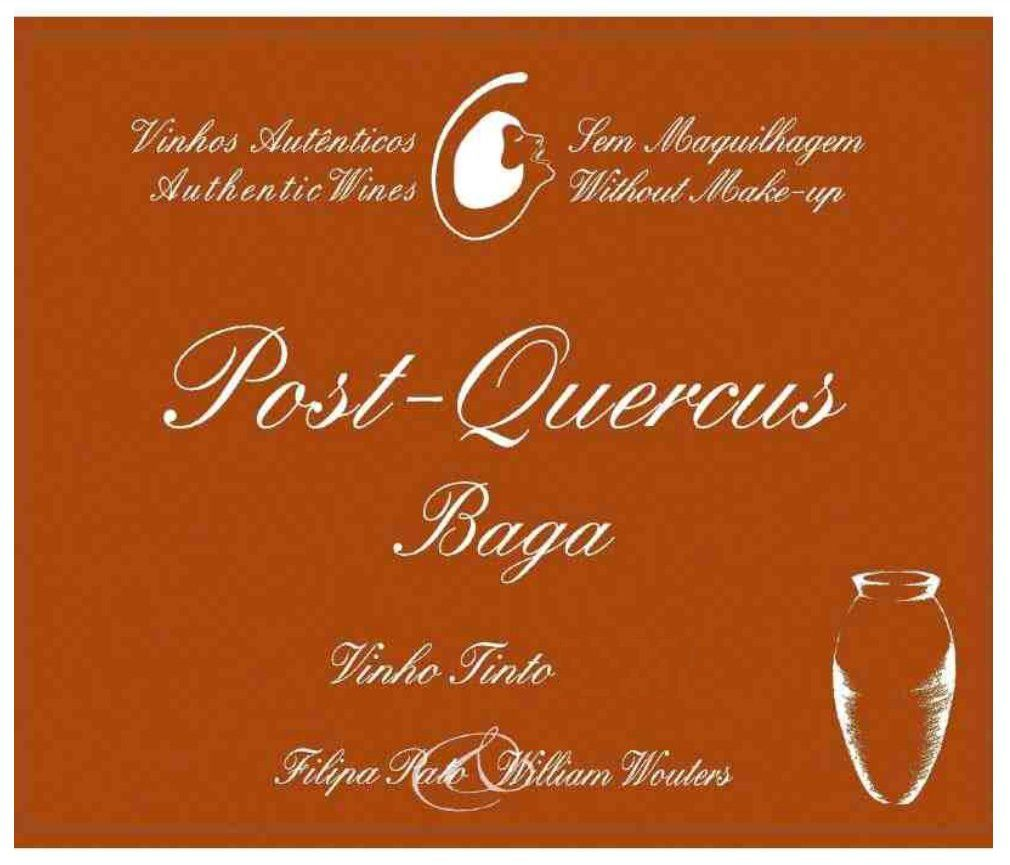 Filipa Pato Post-Quercus Baga Tinto (500ML bottle) 2017 Front Label