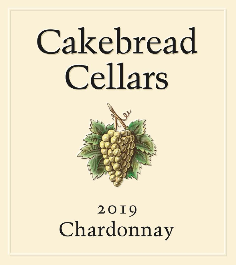 Cakebread Chardonnay 2019  Front Label