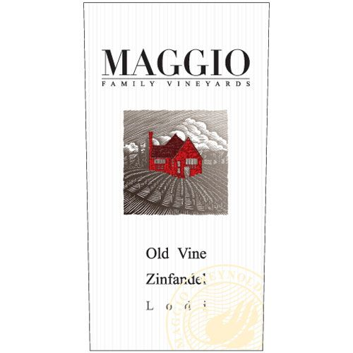 Maggio Family Vineyards Zinfandel 2017  Front Label