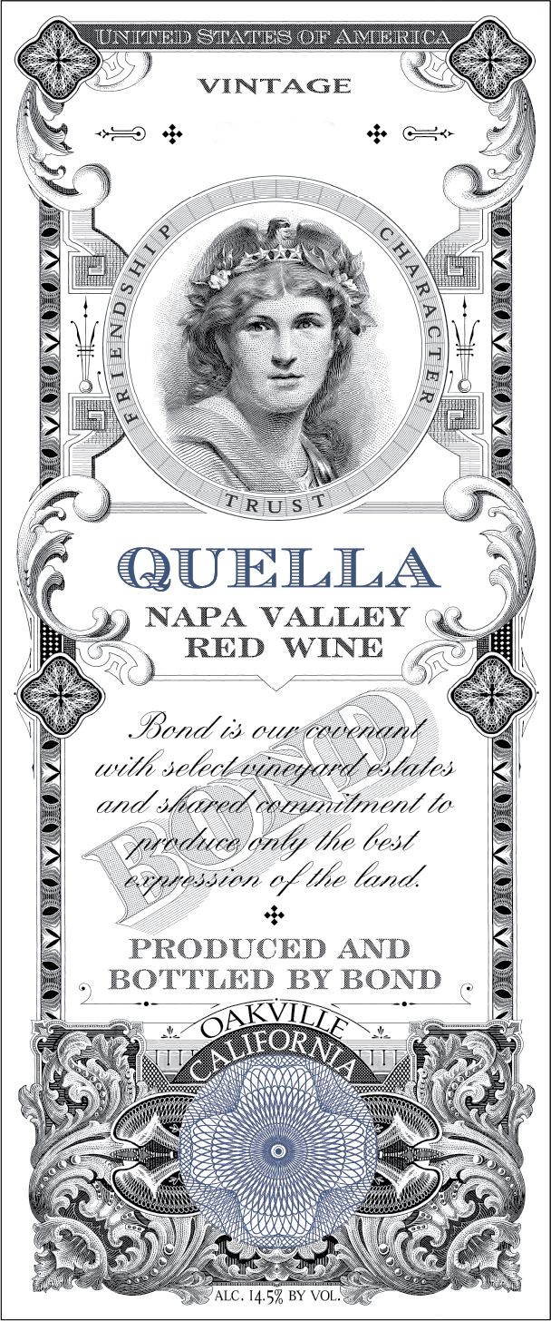 Bond Quella 2015  Front Label