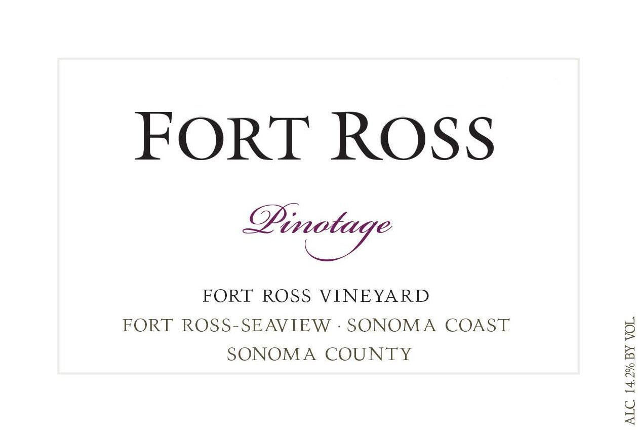 Fort Ross Vineyard Pinotage 2014 Front Label