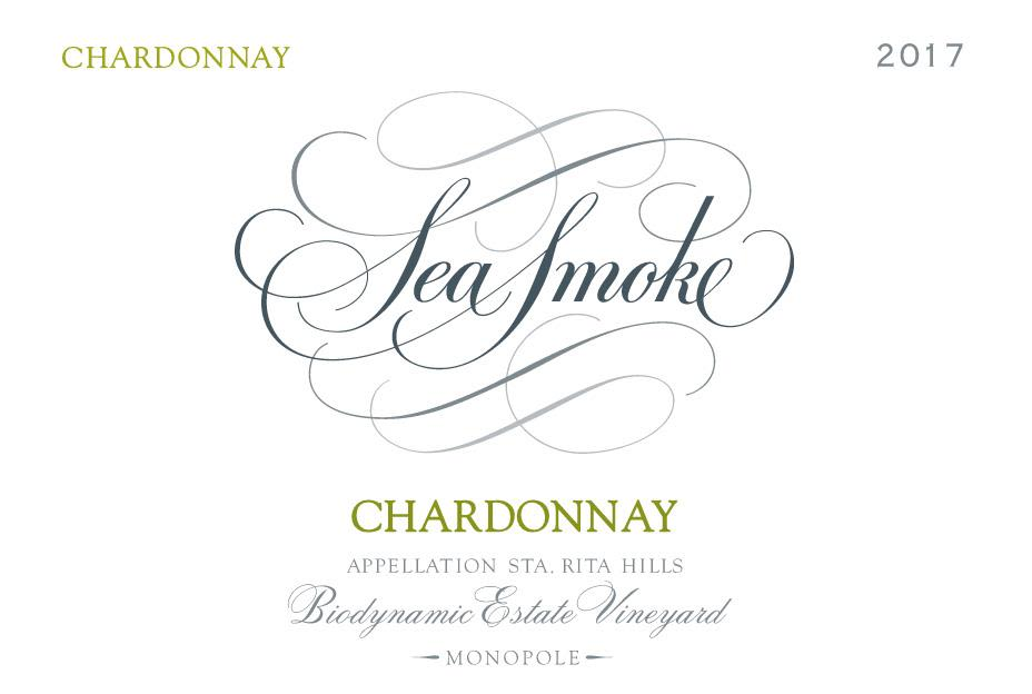 Sea Smoke Cellars Chardonnay 2017  Front Label