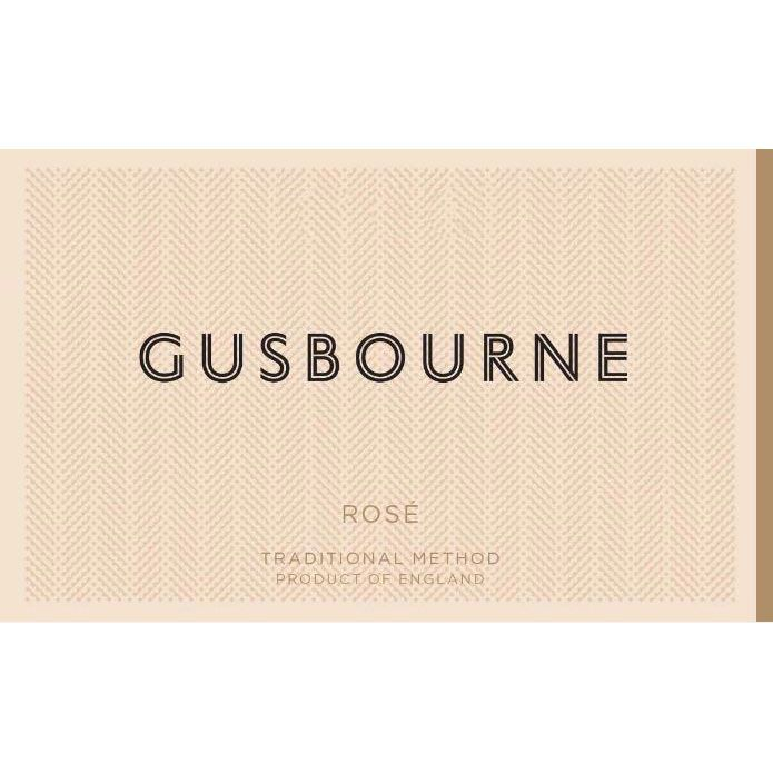 Gusbourne Brut Rose 2015  Front Label
