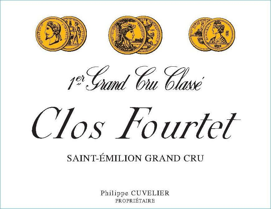 Clos Fourtet (Futures Pre-Sale) 2019  Front Label