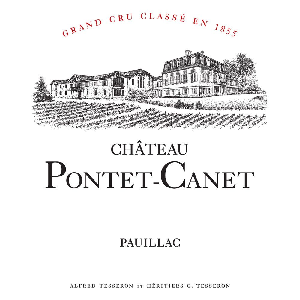 Chateau Pontet-Canet (6-Pack OWC Futures Pre-Sale) 2018  Front Label