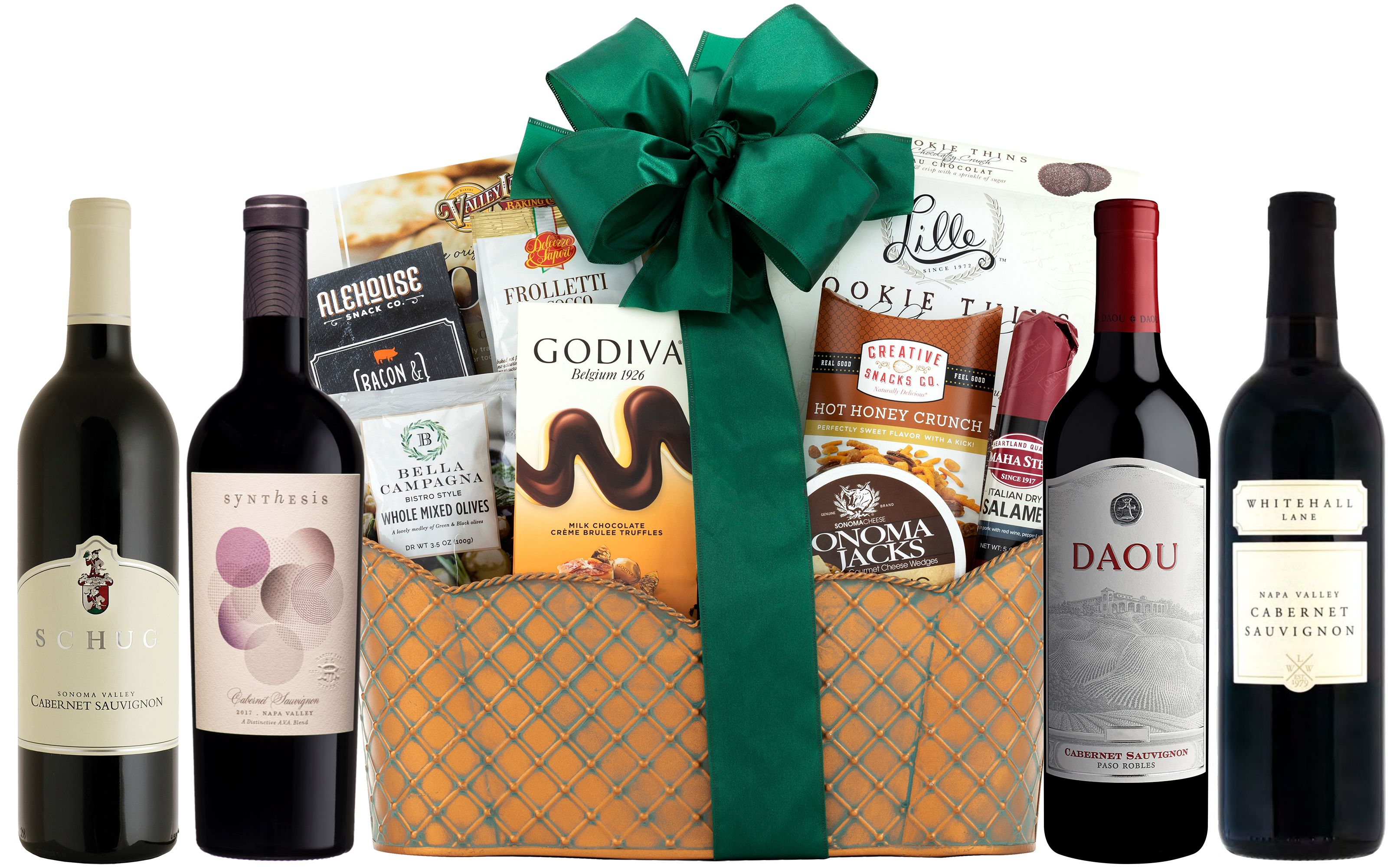 wine.com 90 Point Executive Selection Cabernet Gift Basket  Gift Product Image