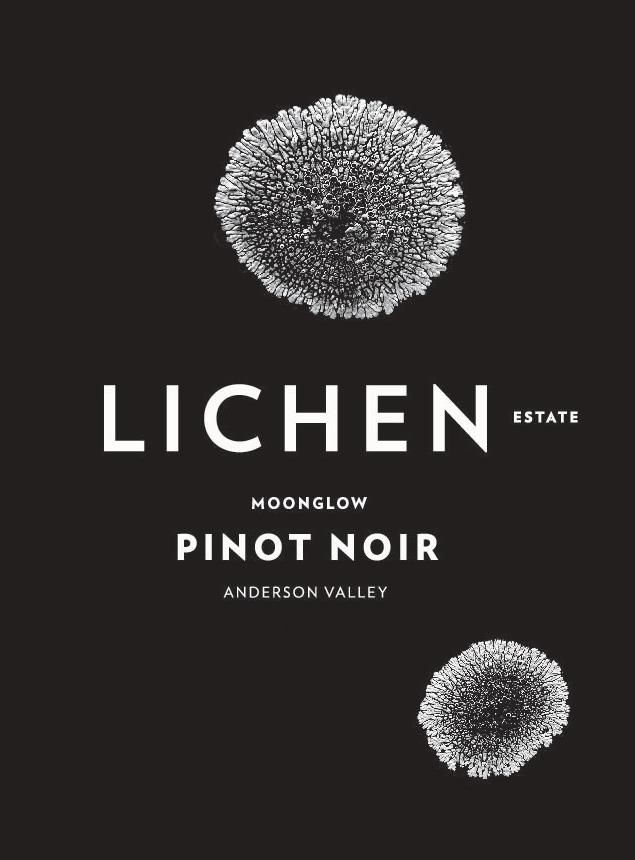 Lichen Moonglow Pinot Noir 2018  Front Label