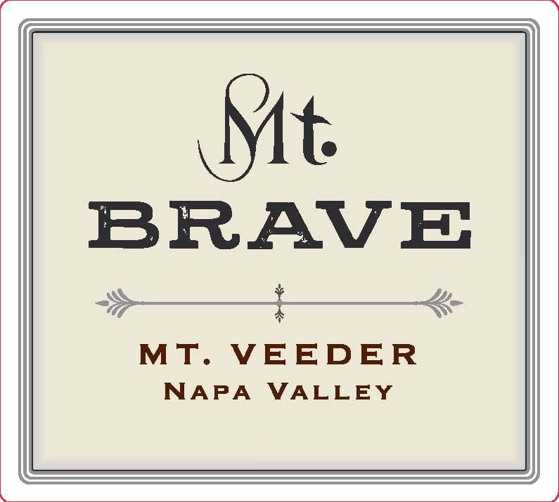 Mt. Brave Merlot 2016  Front Label