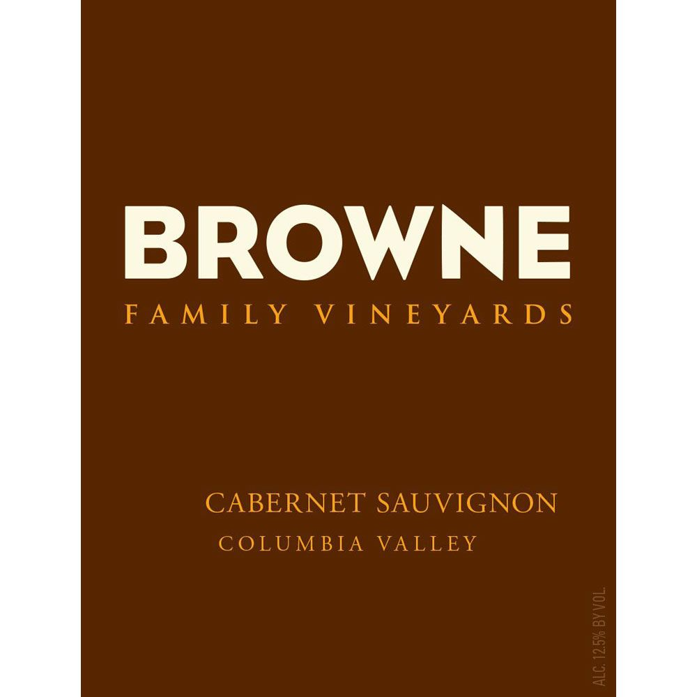 Browne Family Vineyards Cabernet Sauvignon 2017  Front Label