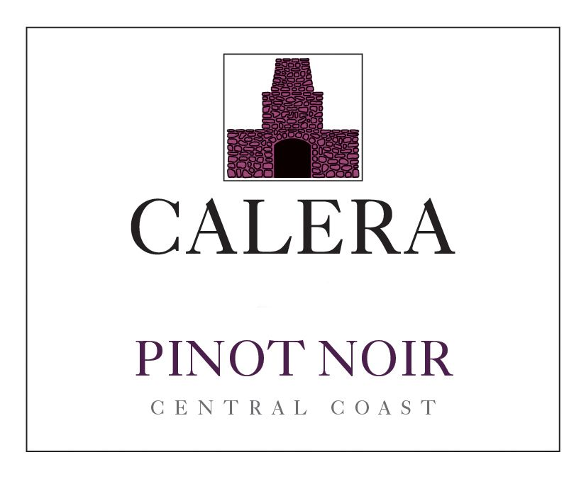 Calera Central Coast Pinot Noir 2017  Front Label