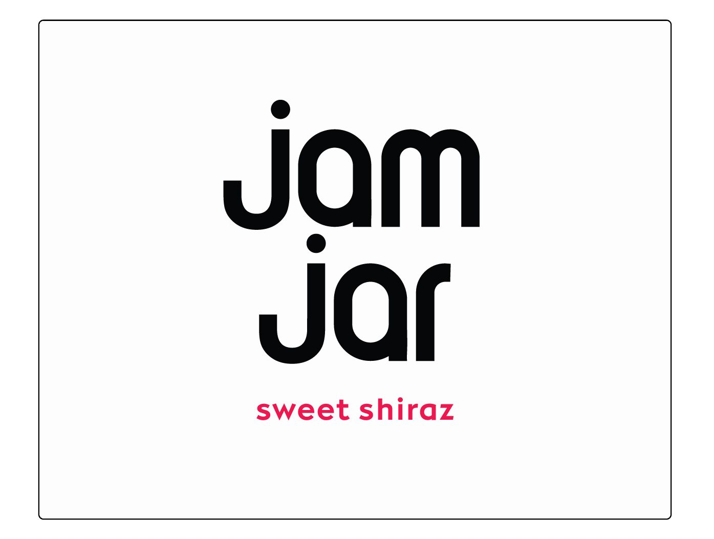 Jam Jar Sweet Shiraz 2019  Front Label