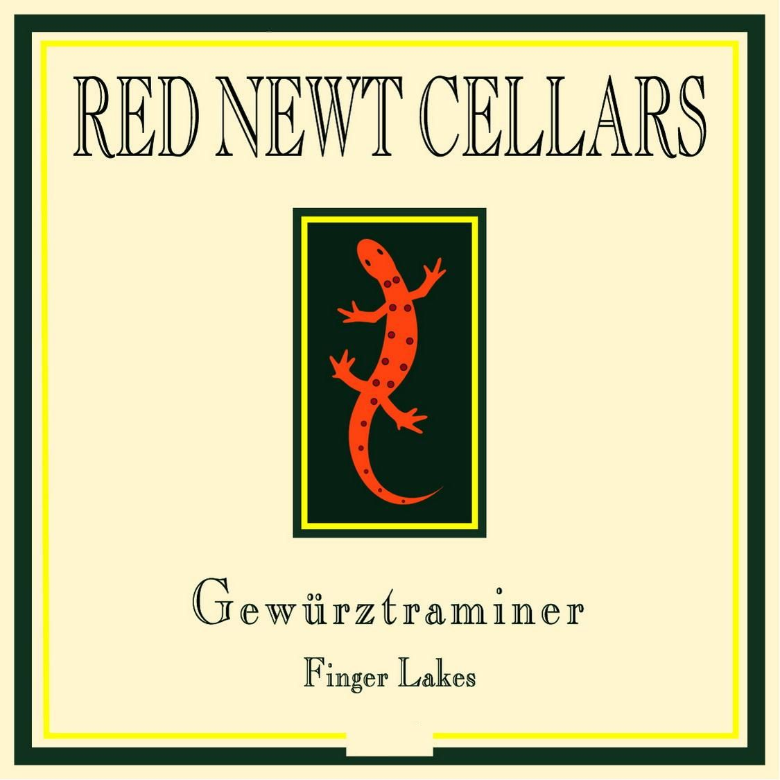 Red Newt Cellars Gewurztraminer 2017 Front Label