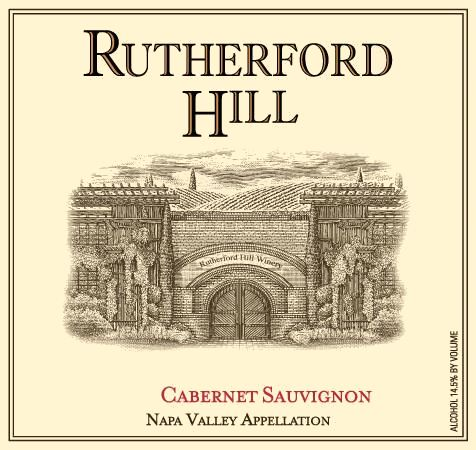 Rutherford Hill Cabernet Sauvignon 2015 Front Label