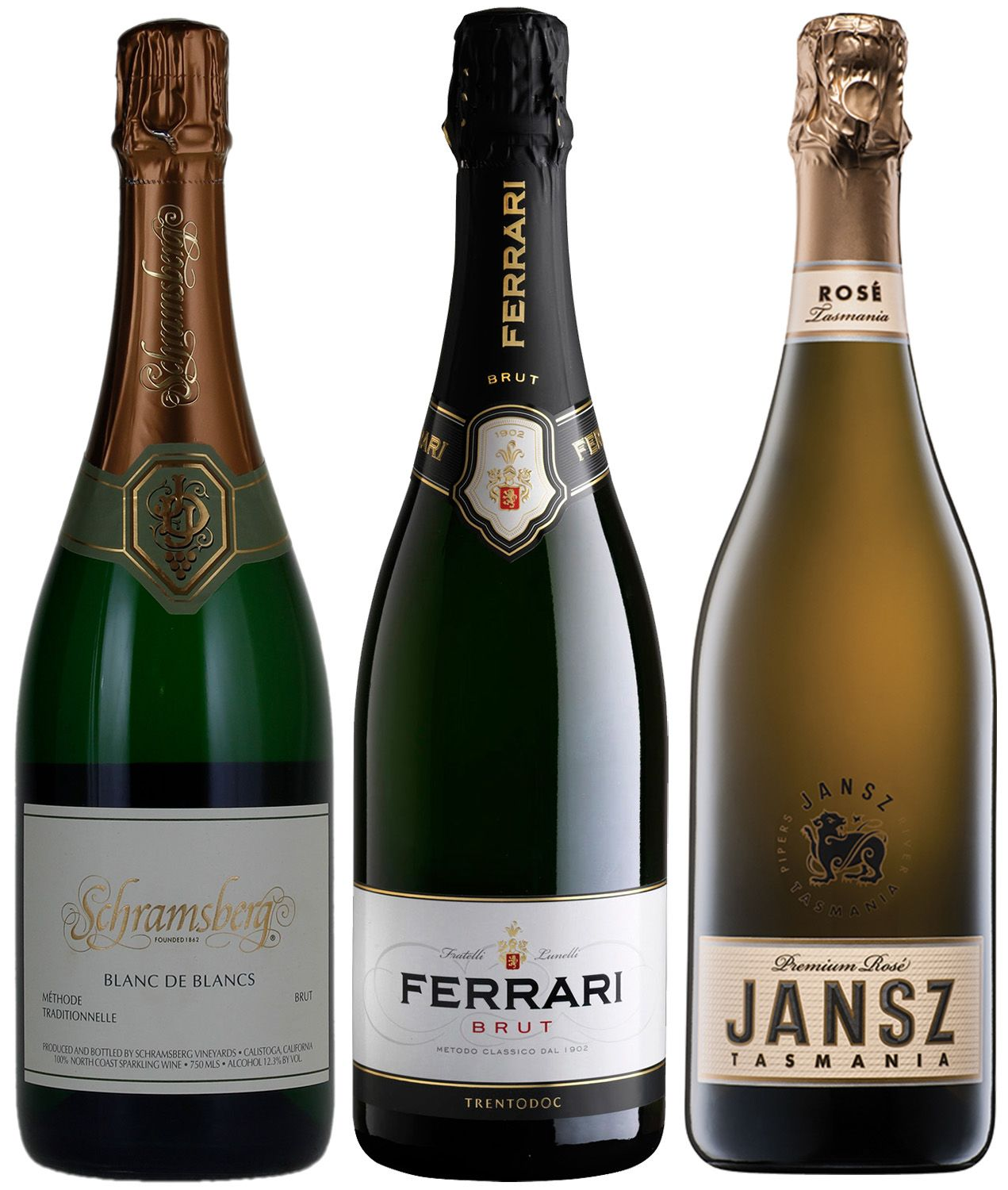 wine.com Champagne Stunt Doubles Tasting Trio  Gift Product Image