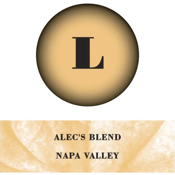 Lewis Cellars Alec's Blend Red 2016 Front Label