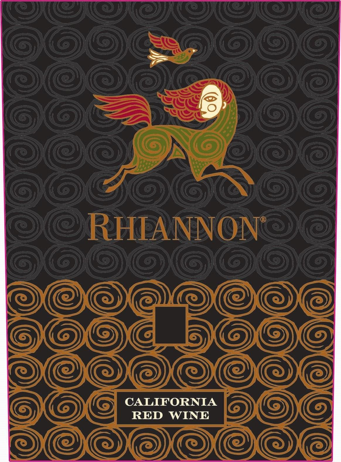 Rhiannon Red 2018  Front Label