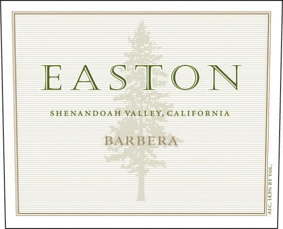 Easton Barbera 2007  Front Label