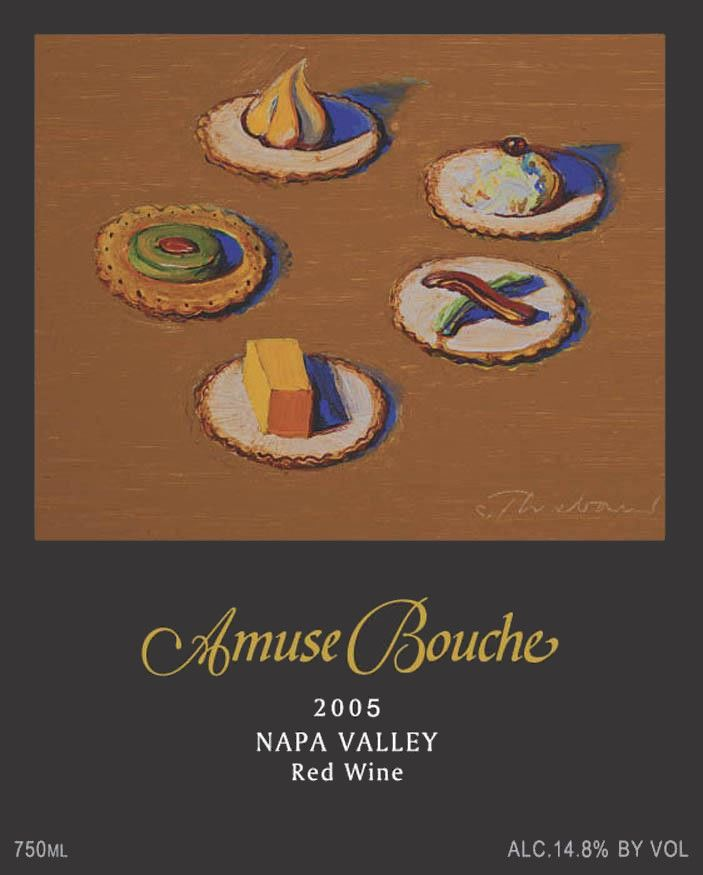 Amuse Bouche Proprietary Red 2005 Front Label