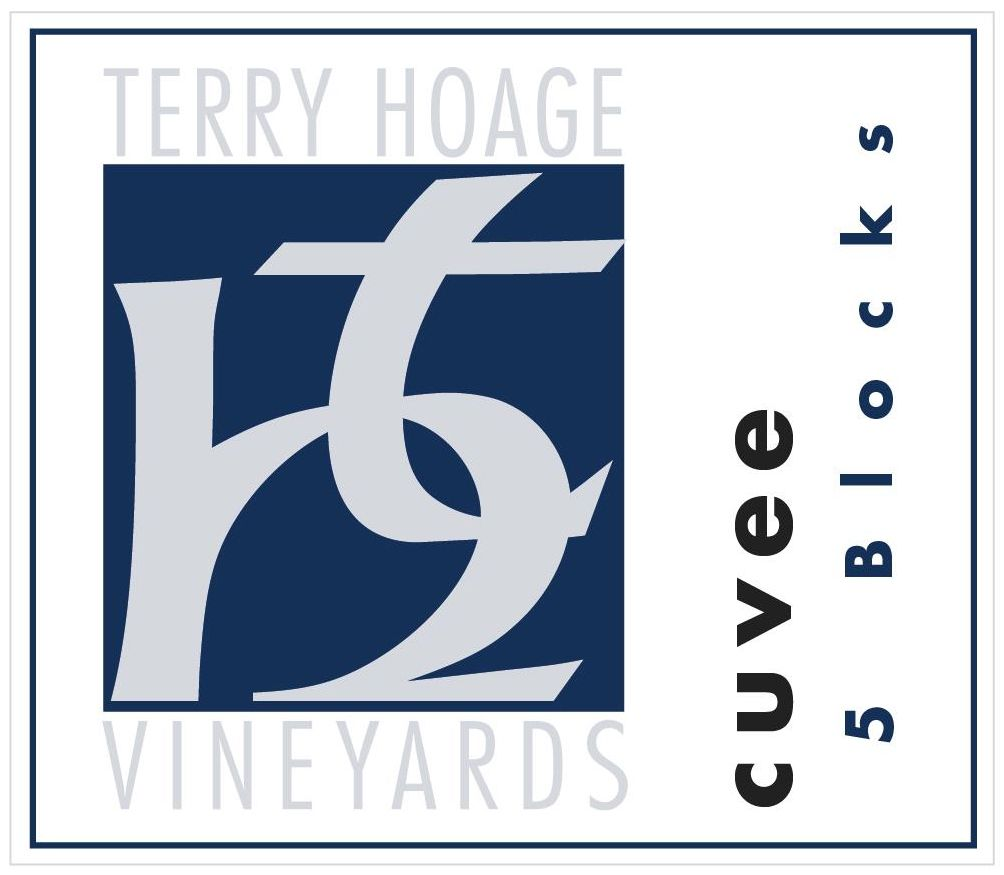 Terry Hoage 5 Blocks Cuvee 2010  Front Label