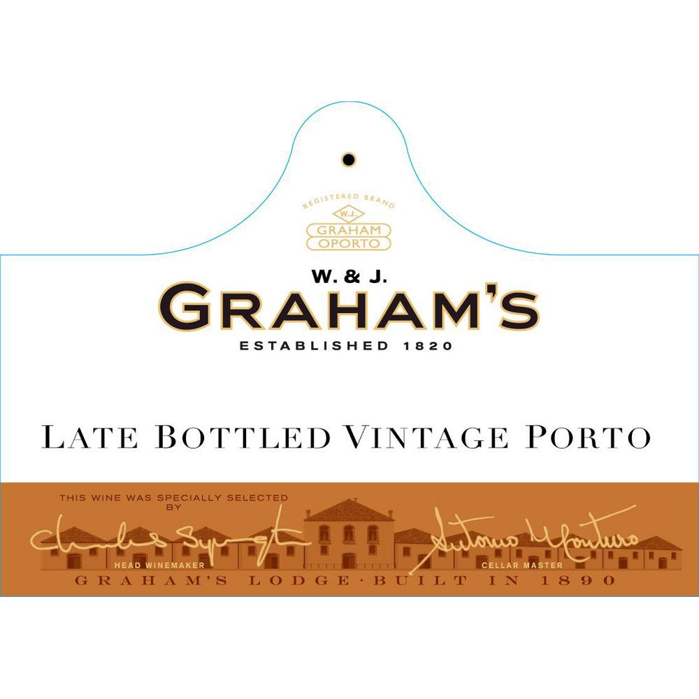 Graham's Late Bottled Vintage 2014  Front Label