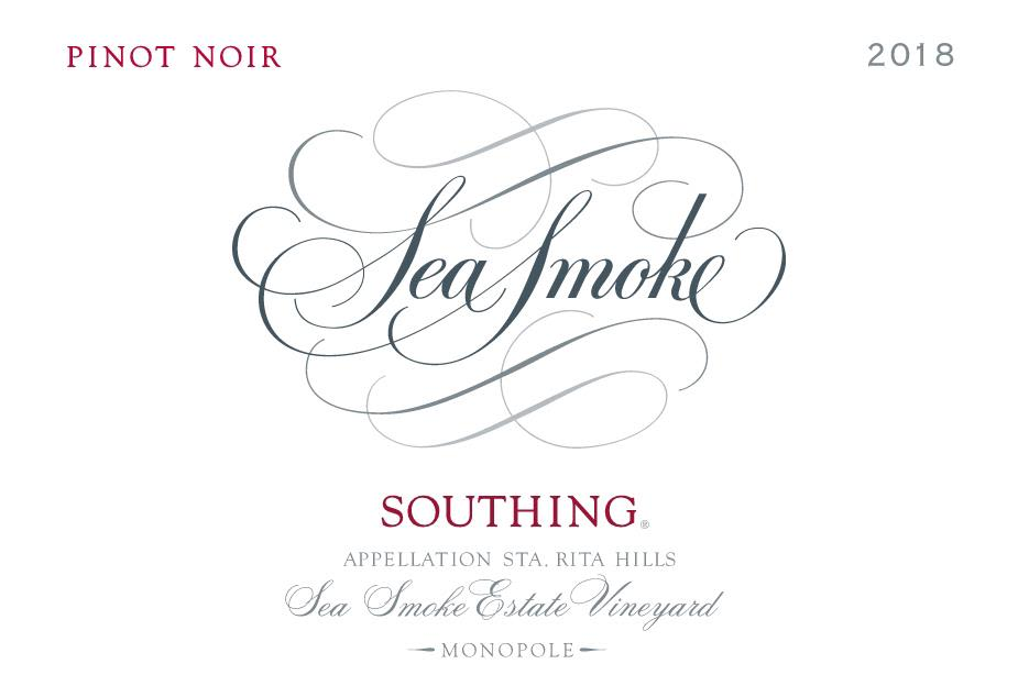 Sea Smoke Cellars Southing Pinot Noir 2018  Front Label